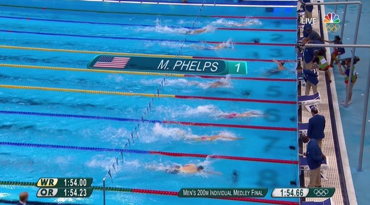 NBC Olympics ‏@NBCOlympics  Aug 11 .@MichaelPhelps DOMINATES on his way to ANOTHER #GOLD Medal! #Rio2016