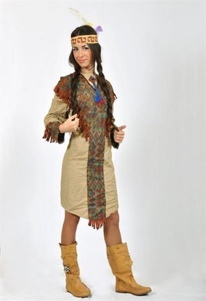 Характеристика костюма индейцев