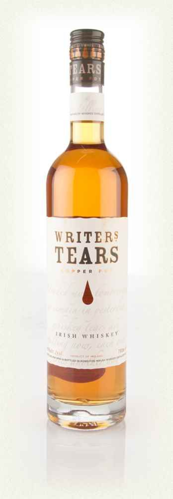 Writers Tears Bottling Note Writers Tears is a light, sweet Irish whiskey made using a mix of single pot still and single malt whiskies, resulting in oodles of honey'd, fruity notes. Wonderfully easy to drink, it would make for a great introduction to Irish whiskey for folks new to the spirit. No writers were harmed in the making of this whiskey.