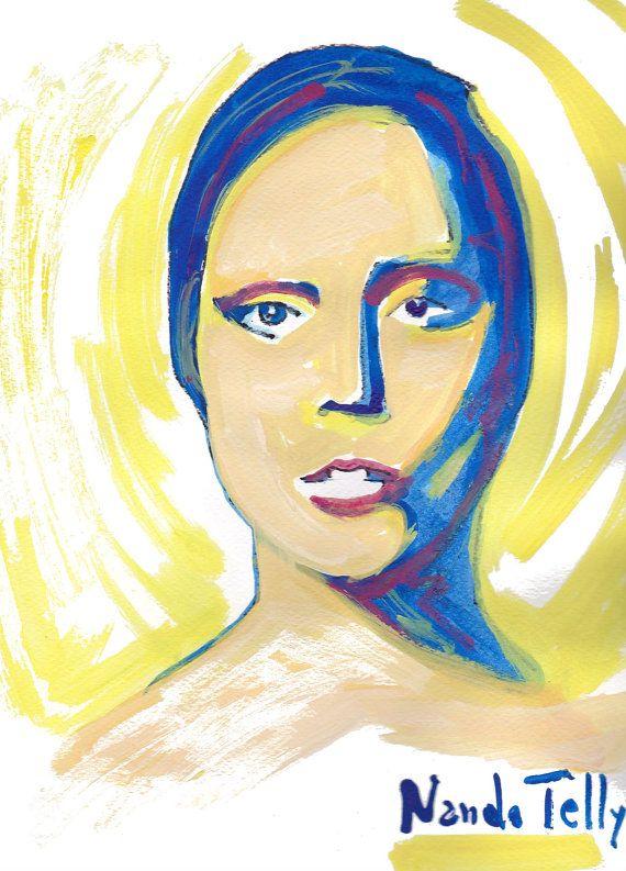 Lady Gaga by NandoTelly on Etsy, €30.00
