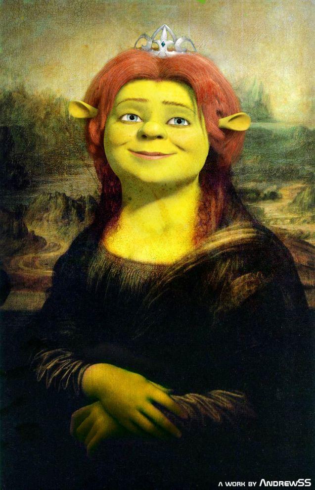 Fiona Lisa [Andrew SS] (Gioconda / Mona Lisa)