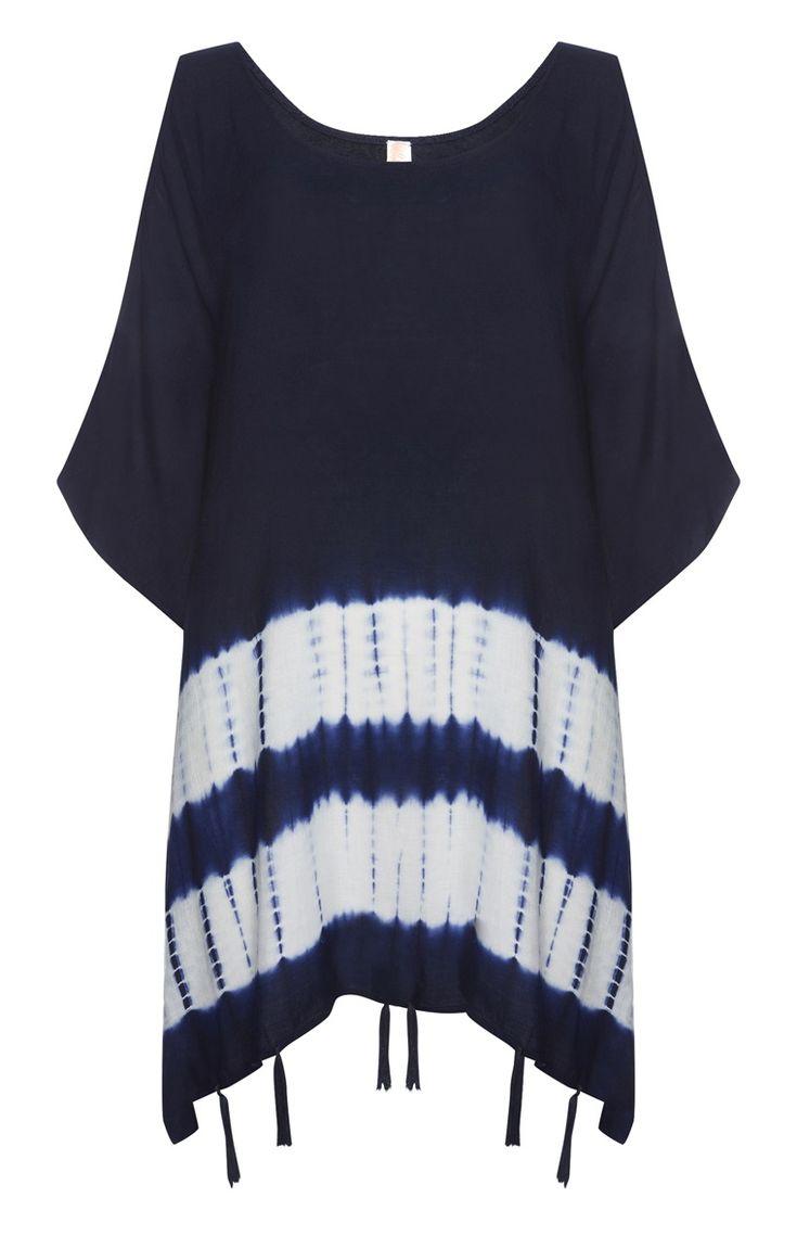 Primark - Blue Tie Dye Cover Up Dress