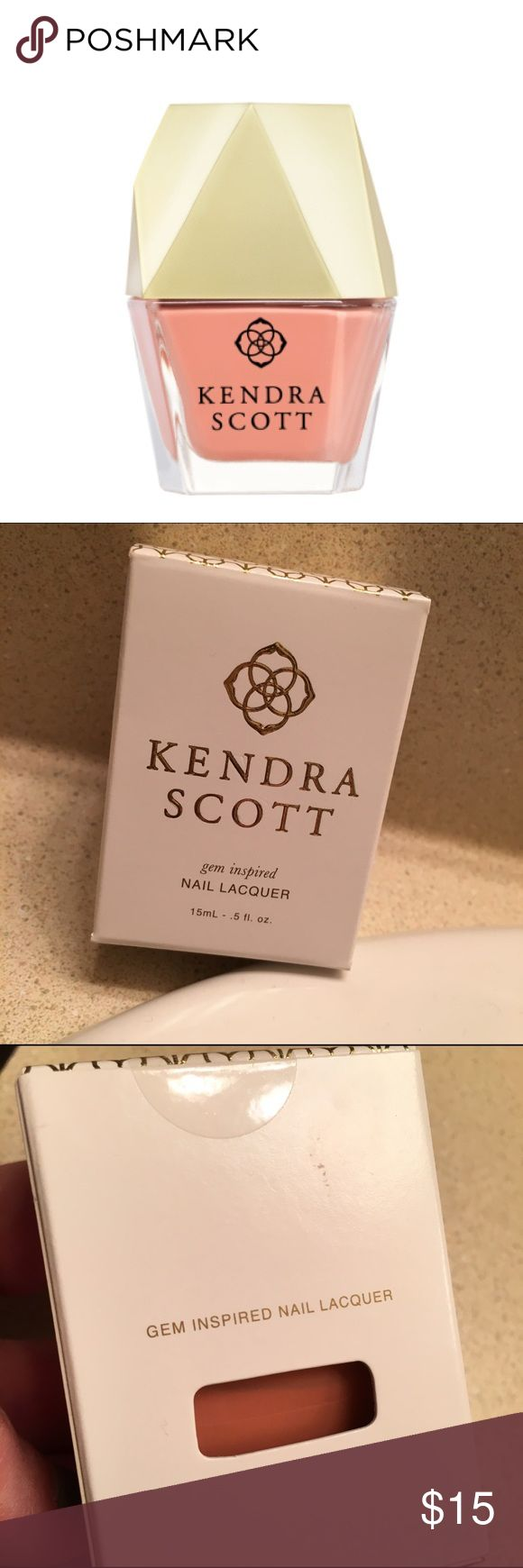 NWT Kendra Scott Peach Nail Polish New, never opened Peach nail polish! Kendra Scott Other