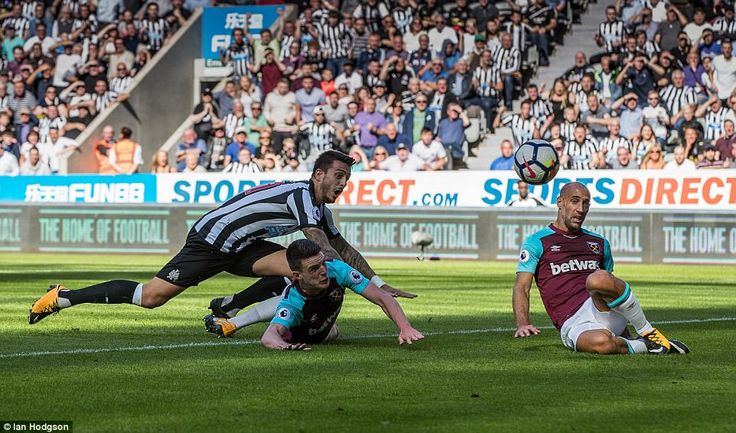 Joselu scored on his Newcastle United debut after his £5million move from Stoke City to give the hosts the lead