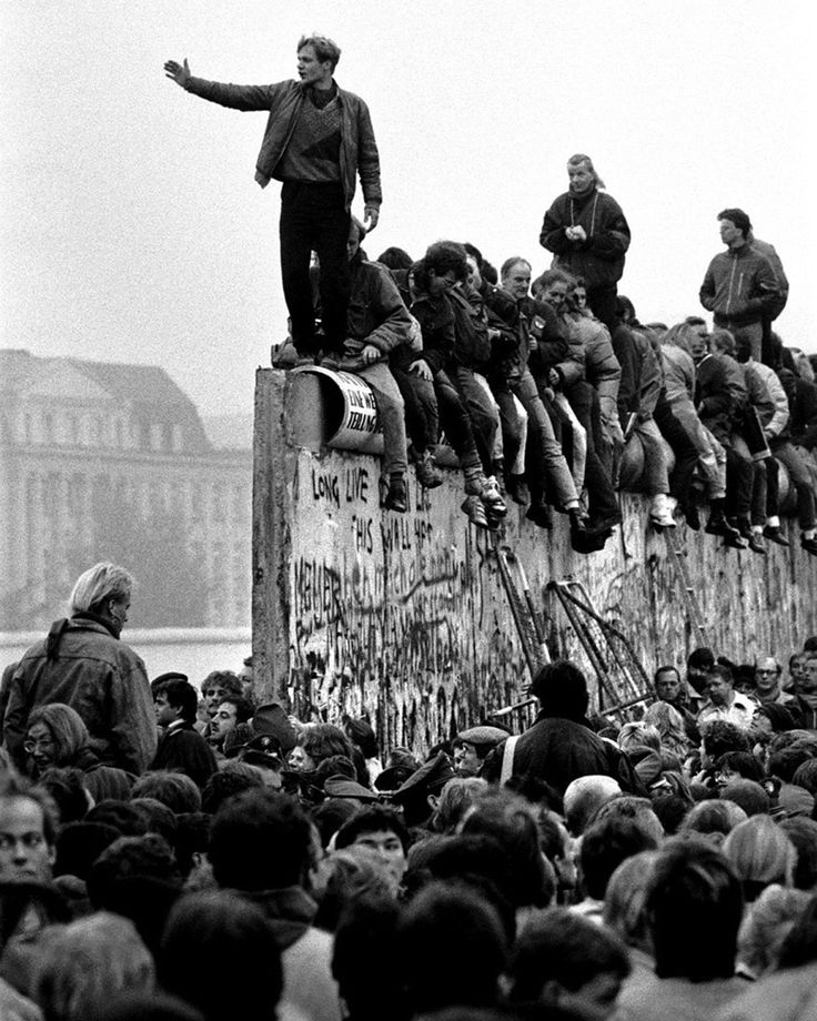 1989 Berlin Wall Fall. The wall was built when Khrushchev gave the East German government permission to stop the flow of emigrants by closing its border. More than 100 people died trying to cross the Berlin Wall.