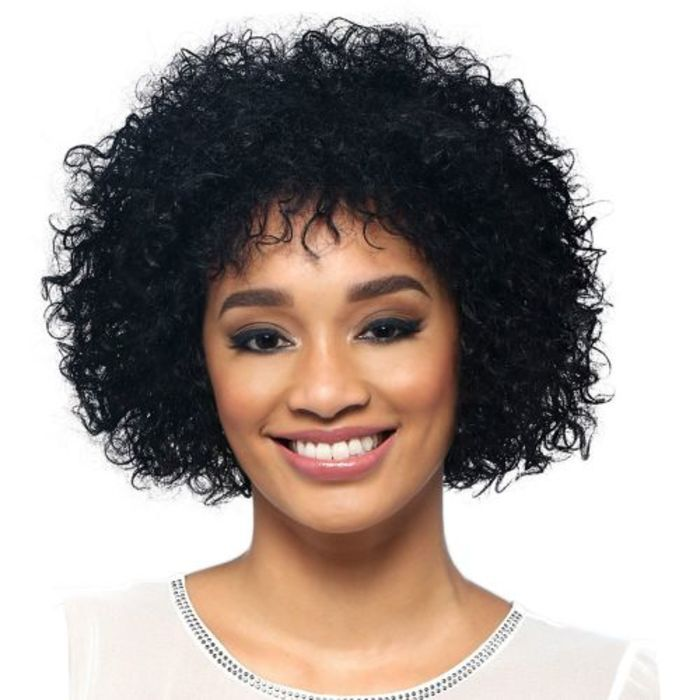 SPRING - 9 Inch Short Wig with Tight Spiral Curls by Vivica Fox Hair Collection