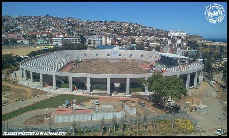 Estadio Elías Figueroa hoy 23/10