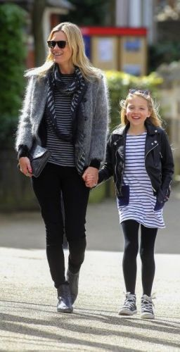 Kate Moss and her daughter Lila prove that chic (with a touch of rockstar edge) is always ageless. Shop and be inspired here: http://rstyle.me/~2HqAQ