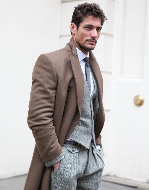 Tweed Herringbone Suit: Colors Combos, Menfashion, David Gandy, Men Style,  Suits Of Clothing, Men Fashion, Men'S Fashion, London Fashion, Coats