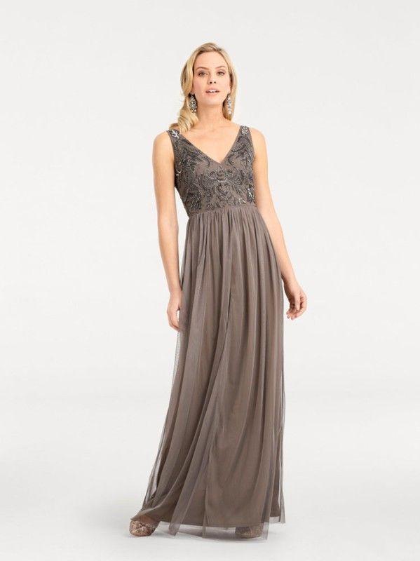 Ashley Brooke by heine Abendkleid mit Pailletten in grau bei ABOUT YOU bestellen. ✓Versandkostenfrei ✓Zahlung auf Rechnung ✓kostenlose Retoure