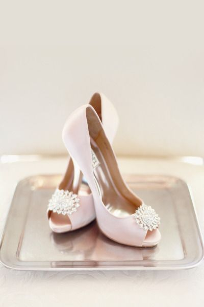 Blush Colored Heels By Badgley Mischka Photography Simply Bloom LLC Simplybloomphotog