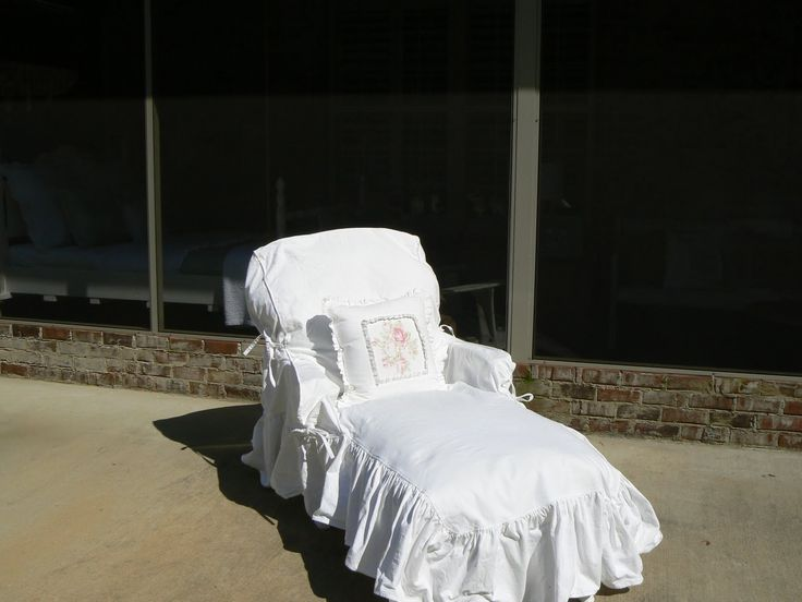 comfy and inexpensive to make too! 1 plastic chaise lounge chair + ...