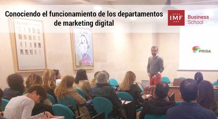 En IMF hemos puesto en marcha el proyecto Vívelo, destinado a que nuestros alumnos conozcan cómo funcionan los departamentos de marketing digital.