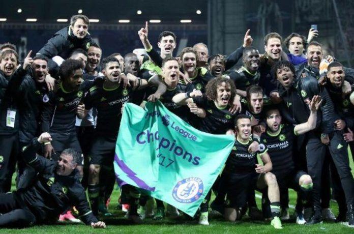 Menang 0-1 Atas WBA, Chelsea Juara Premier League Musim 2016/2017
