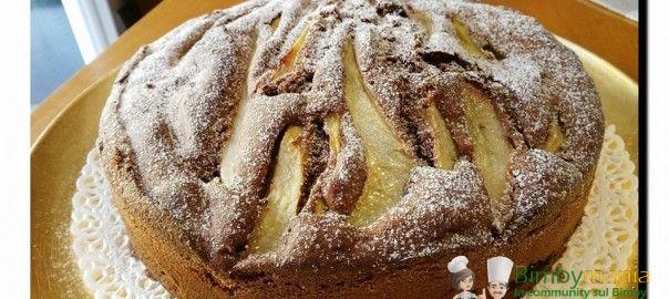 Torta pere e cioccolato Bimby - Ricette Bimby