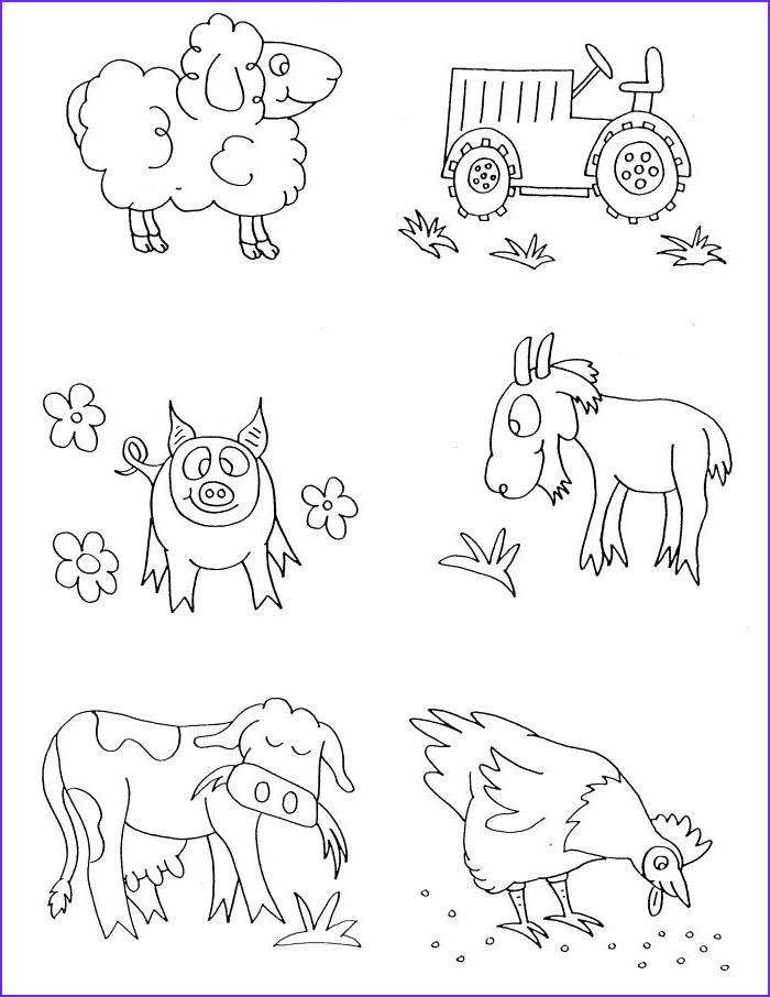 Free Printable Farm Animal Coloring Pages For Kids Farm Animal Coloring Pages Farm Coloring Pages Animal Coloring Books
