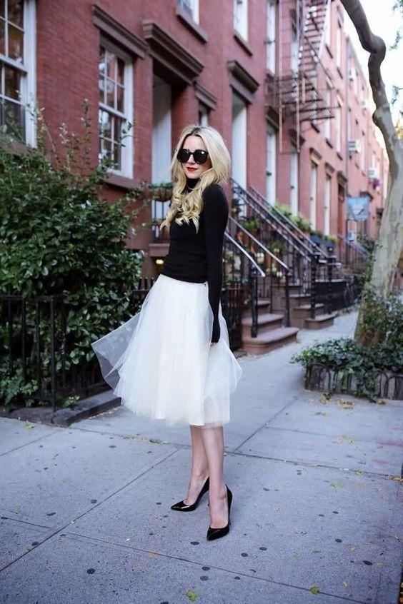 Como usar saia midi rodada e arrasar | Ideias fashion, Estilos, Looks