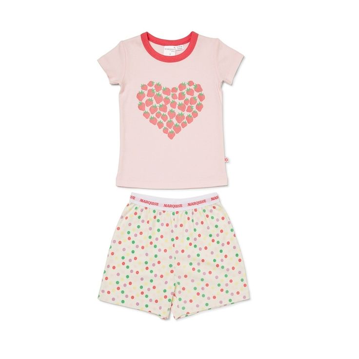 Marquise - Marq Summ Pj's - Strawberry Heart