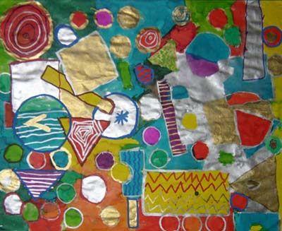 formes geometriques arts plastiques ecole maternelle