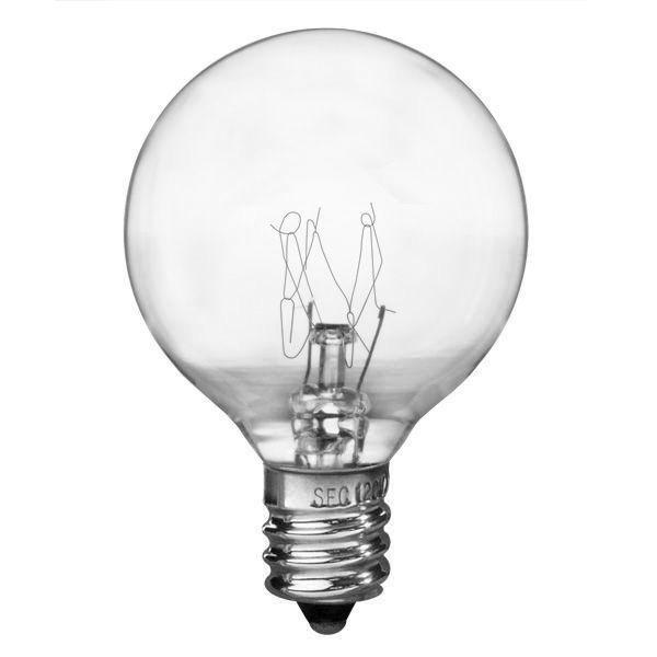 G12 Globe Incandescent Light Bulb 5w 130v Plt Siv G405e12cl Christmas Light Bulbs Incandescent Light Bulb Bulb