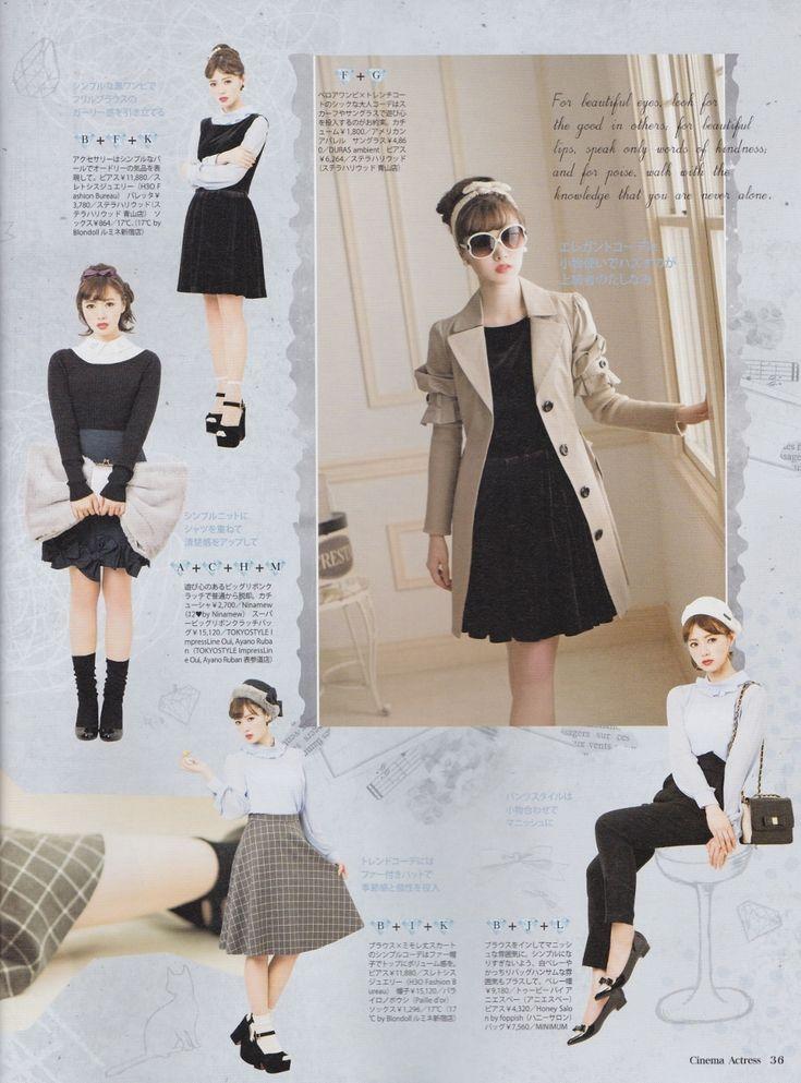 squishyblob: Cinema Actress kimawashi (mix and... | 日々是遊楽也