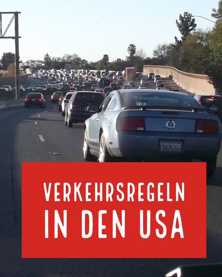 Verkehrsregeln in den USA