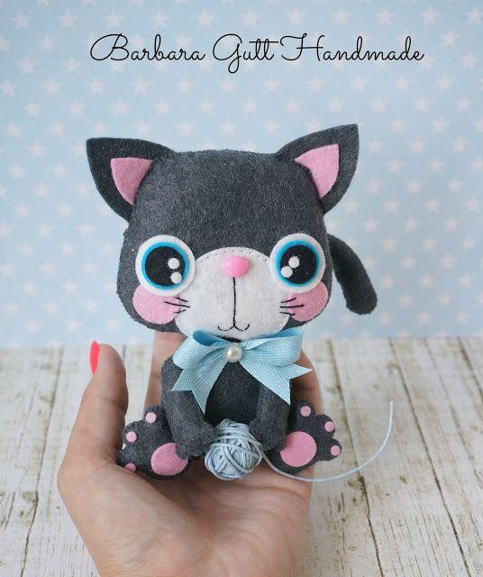 Barbara Handmade...: Słodki kotek / Sweet kitty