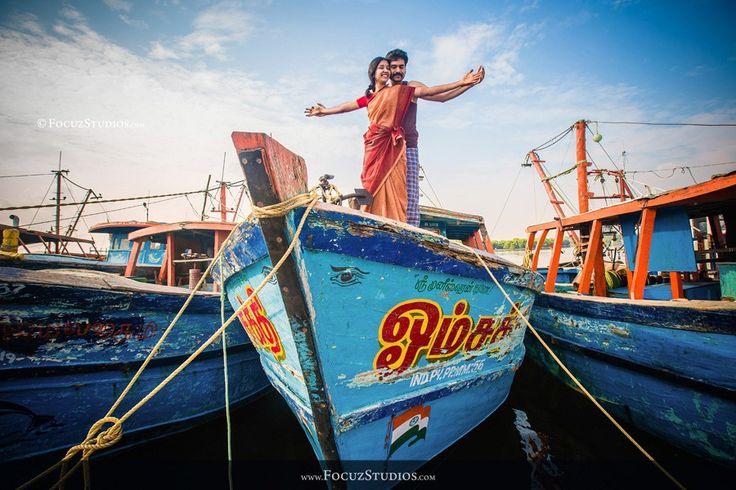 Post Wedding Shoot in Pondicherry | Bharani   Meena