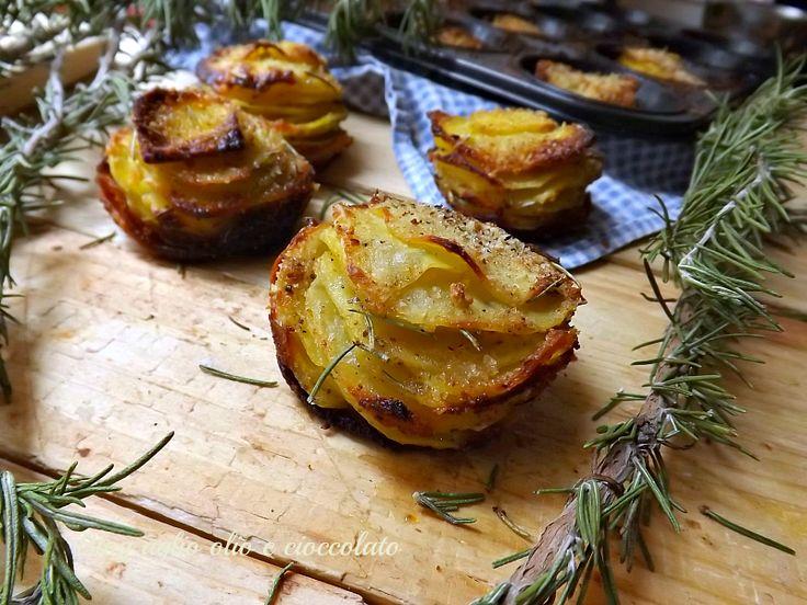"""""""patate sfogliate""""-ricetta semplice e veloce"""