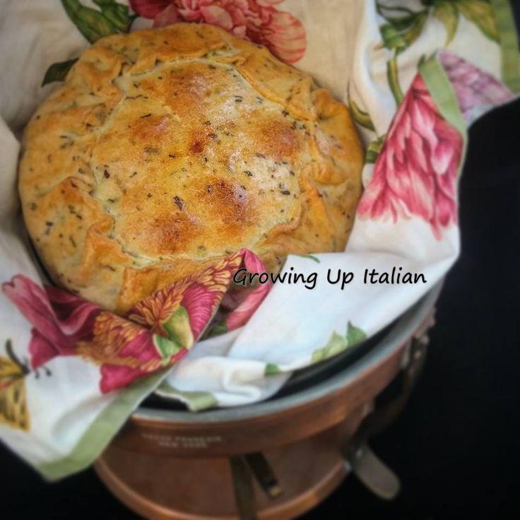 Crostata del Pastore. Antica ricetta Umbra (pulifrigo)