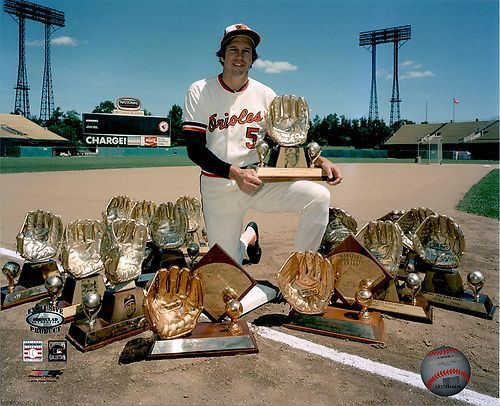 Brooks Robinson Orioles   16 Gold Gloves!!! Need I say more! Best 3rd baseman ever! Sorry Mr. Schmidt.