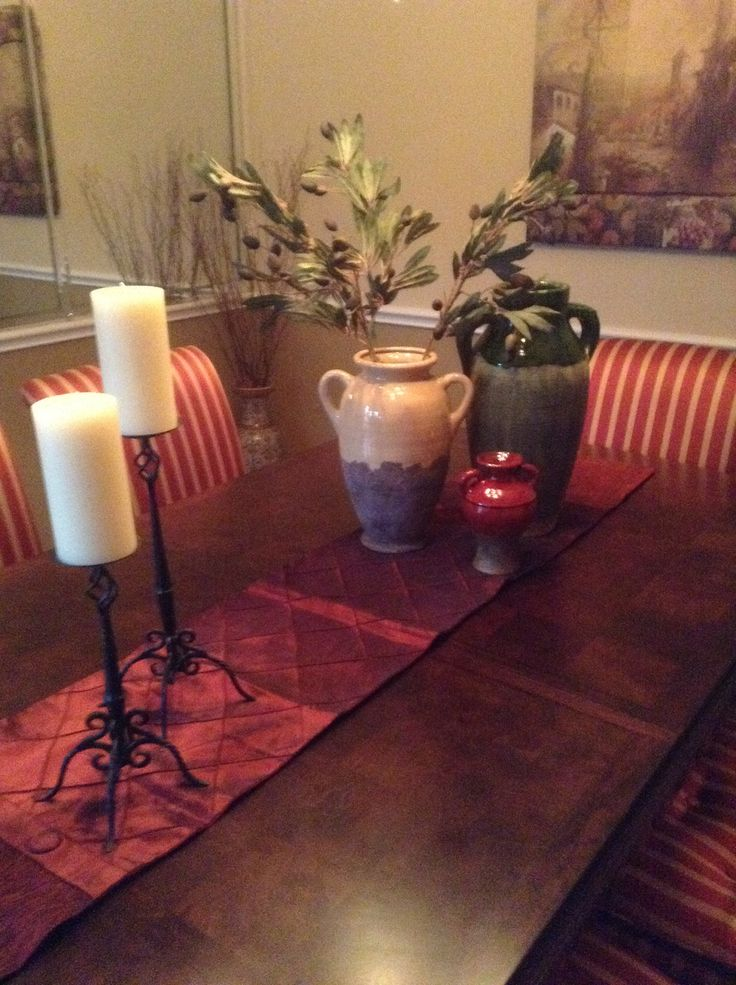 Dining Room Table  Accent Pieces  Pinterest  Dining Room Table Prepossessing Dining Room Accent Pieces Inspiration Design