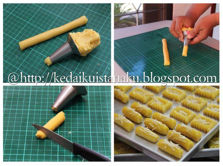 Kedai Rachmah: Cara Membuat Bentuk Potongan Kue Kering Klasik - Kaastengels