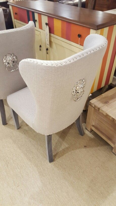 Gray Fabric Dining Chairs