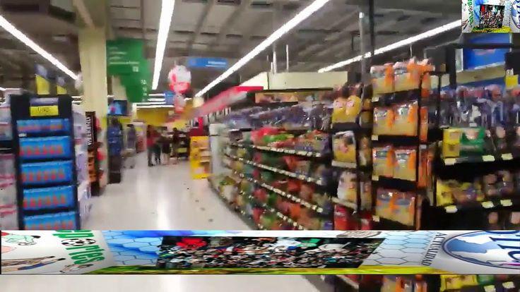 Los últimos segundos del terremoto de Costa Rica, captados en WalMart.