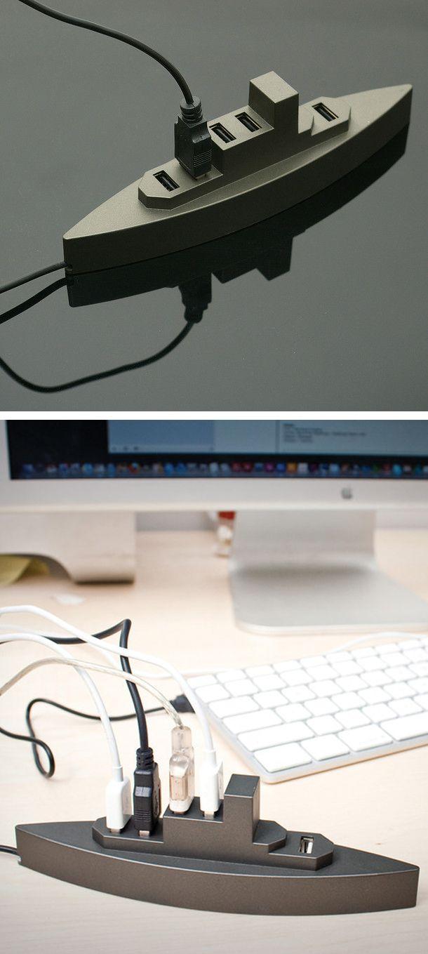 Battleships USB hub