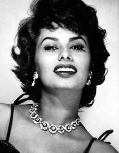 L'attrice Sophia Loren fotografata da Elio Luxardo - 1950