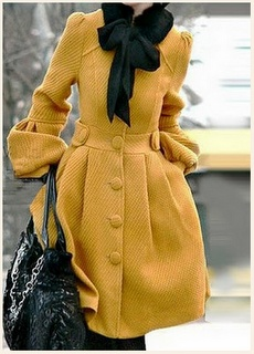 coat: Fashion, Style, Color, Yellow Coat, Coats