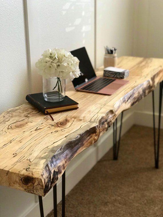 Dwell Edge Desk / Dwell Edge Desk / Dwell Edge Couch Desk / Desk / Dwell Edge Wooden …