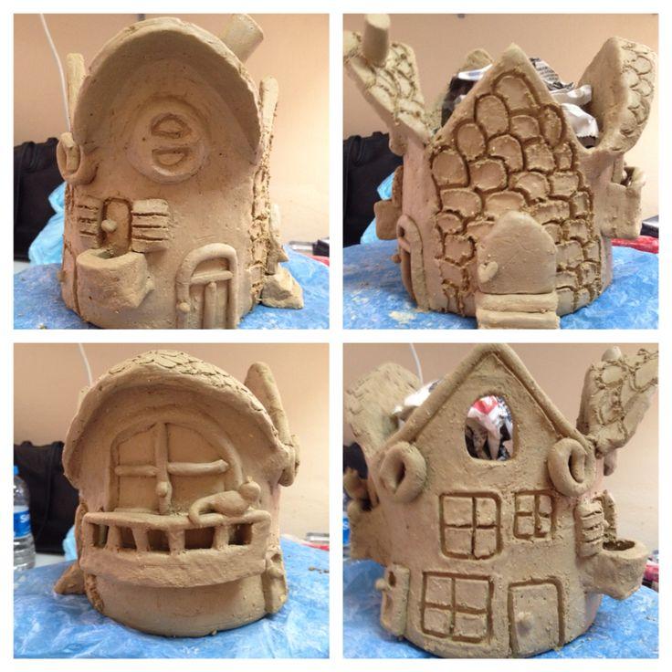 #Ceramic house 24.01.2015
