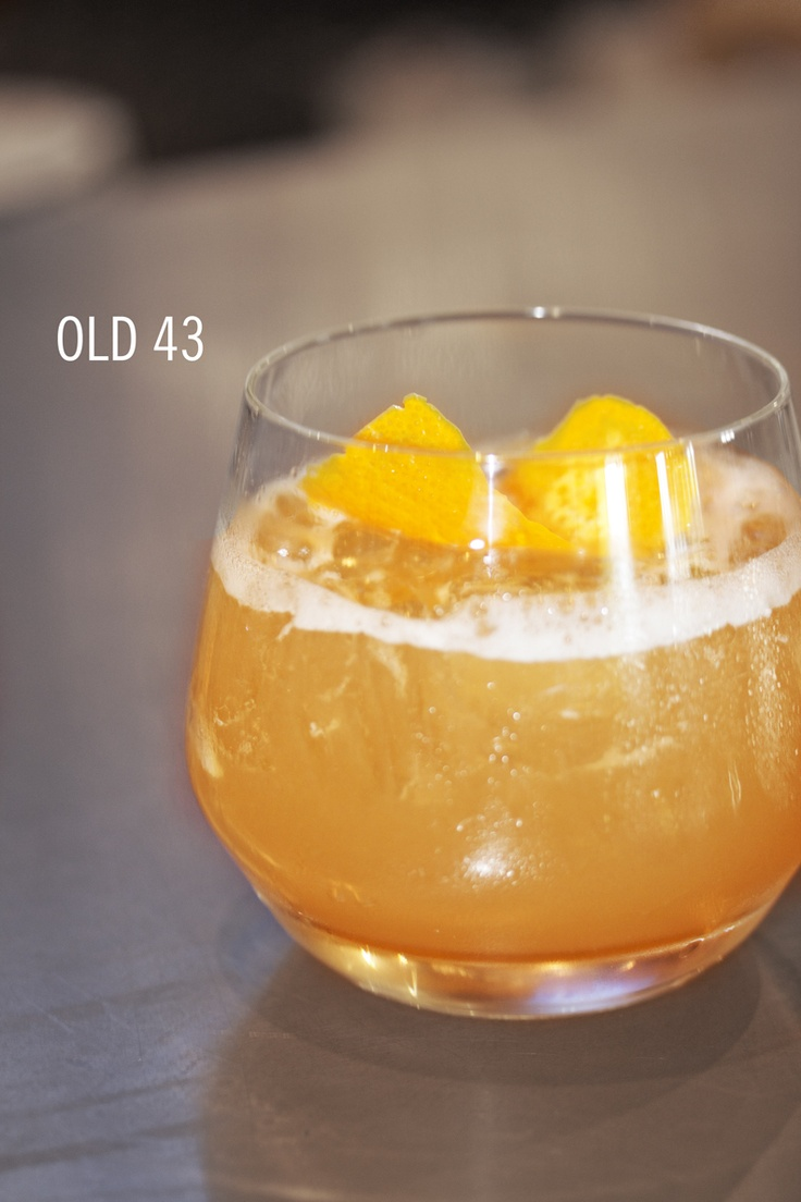 NEW #CraftedCocktails at Yard House!  OLD 43 woodford reserve bourbon, licor 43, house citrus agave blend, orange bitters
