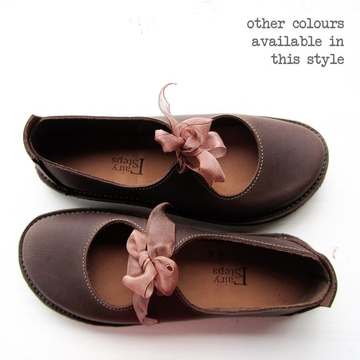 Influenced by Mary Janes and dancing shoes, Luna is the essence of Whimsy!! Ribbon ties to keep them firmly placed for skipping and hopscotching. This style is adaptable for various width fittings making them super comfy for hard to fit feet.�Useful for every occasion, from weddings to long countryside walks.<b>To complete your order</b>*Please select your usual size using the drop down menu.(We make UK 3 to UK 8 / US 5 to US 10 / EU 35.5 to EU 42).*Choose your...