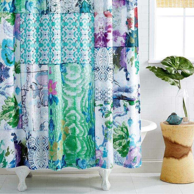 Perfect Funky Shower Curtains To Spruce Up Your Bathroom