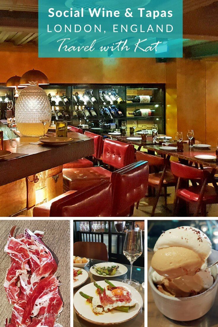 Great London Restaurants Social Wine And Tapas Travel Food Best Tapas Tapas