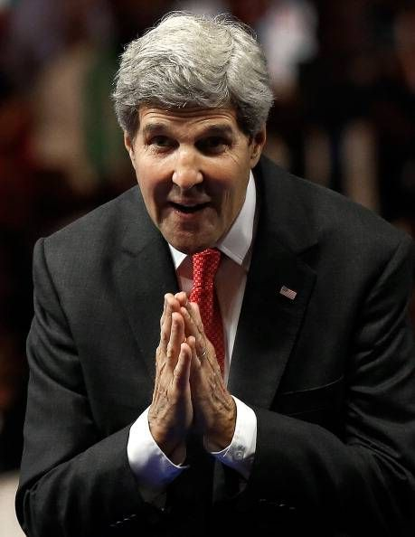 """HIS DAUGHTER IS MARRIED TO AN IRANIAN-And He's Actually Really Jewish by Birth, GParents converted to Christianity-John Kerry told reporter Laura Rozen this weekend, """"that a nuclear deal with Iran is possible, Inshallah."""" Kerry said this. inshallah means, if allah wills it. is Kerry a moslem now? why else would he use an Arabic word? is he speaking only to his Islamic audience who knows what this word means? it sends a message-he is on the islamic's side as is Jarrett/obama//Via BizPac…"""
