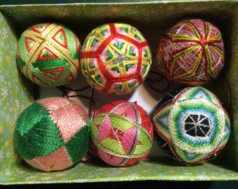 Temari giapponese palla Fusen palloncino disegno 4 di NavAndFets