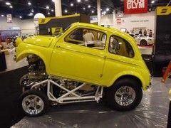 Fiat 500 Funny Car