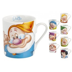 "Set Tazze Mug Disney - 8 Tazze Mug Disney Colazione ""Biancaneve e i 7 Nani"" Disney Original - http://www.shoolit.com/it/disney-articoli-vari/702-disney-set-8-tazze-colazione-sette-nani-e-biancaneve.html"