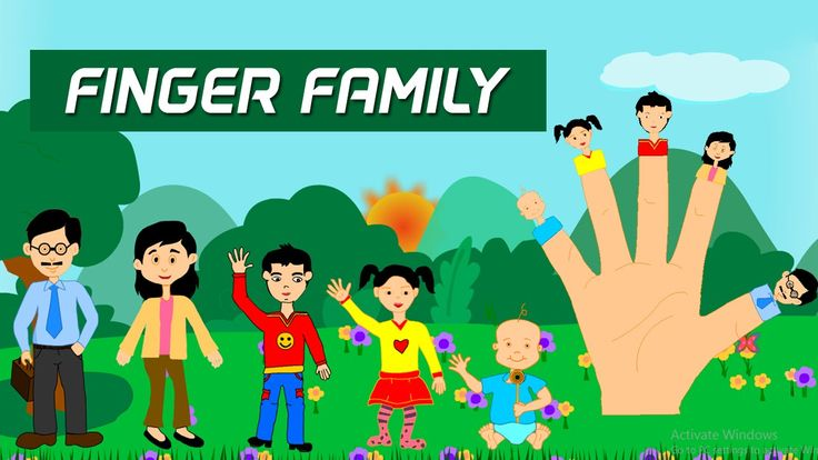 Finger Family Song For Nursery Kids || Finger Family Nursery Rhymes