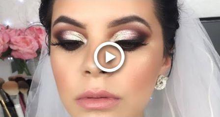 Maquillaje Para Novia Glam Paso Ein Paso | Braut Make-up | Angela Garza – #angel…